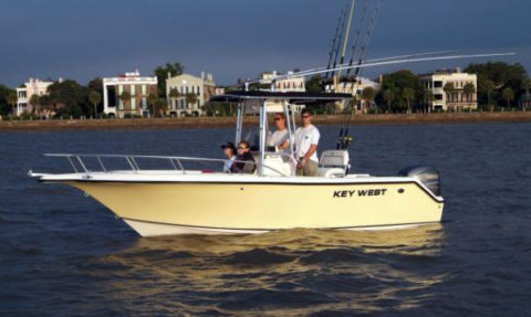 22 ft Key West Center Console