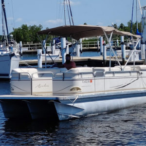 20 foot Avalone Pontoon