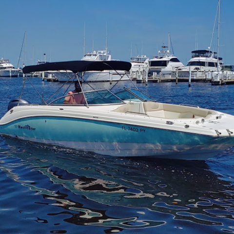 24ft Nautic Star Deckboat